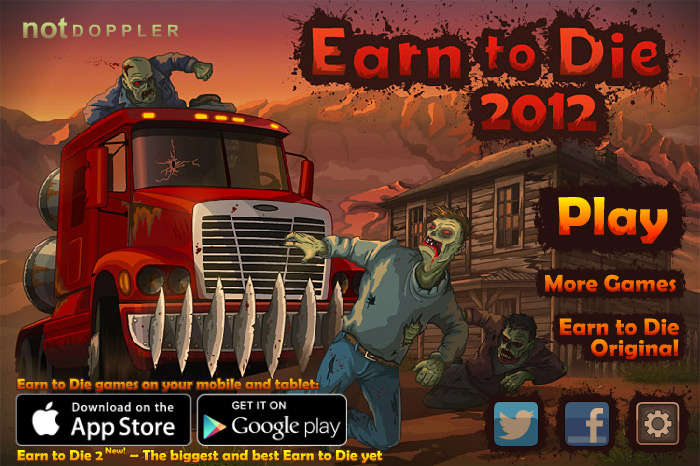 Play Earn to Die 2012