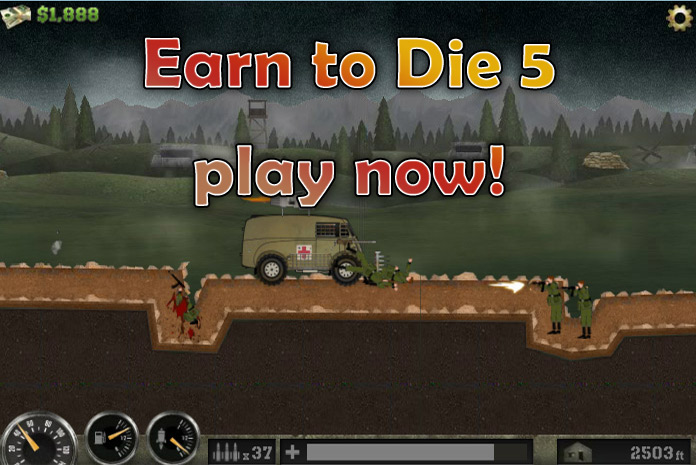 Click to play Earn to Die 5
