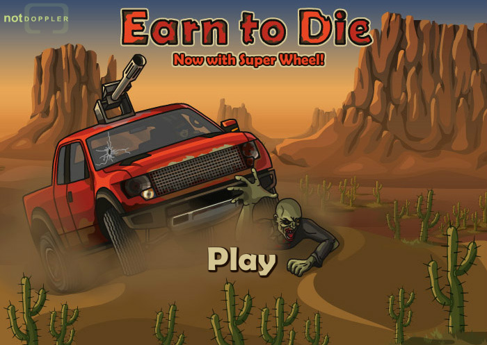 Click to play Earn to Die Super Wheel